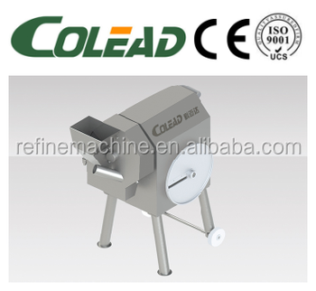 Hot sales cube cutting machine/dicer/slicer/shreding machine from Colead
