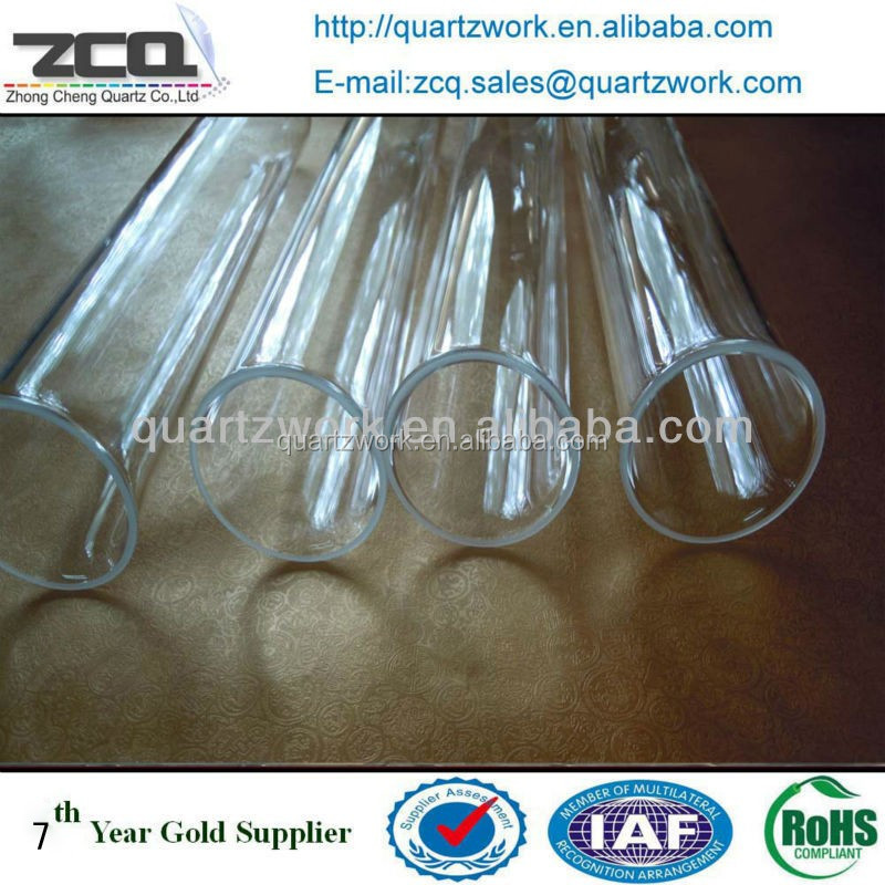 Quartz Tube Sleeve Quartz Glass Cylinder for Water Treatment