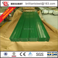used galvanized corrugated sheet used steel roof sheet teflon coated steel plate