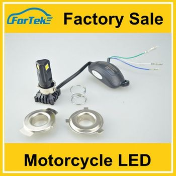 slim led para moto motorcycle lighting led head light for motorcycle with no fan