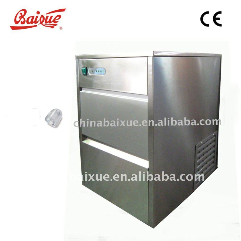 CE commercial use stainless steel SS ice maker /ice machine/ice making machineZB26