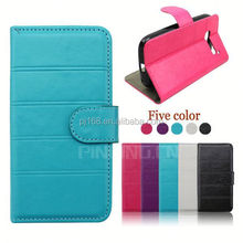 for HTC Butterfly 2 case, book style leather flip case for HTC Butterfly 2