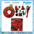 XMAS Cat Toy 10PCS / Set Cute XMAS Cat Gift Packing Toy Hot Selling Cat Teaser Toy