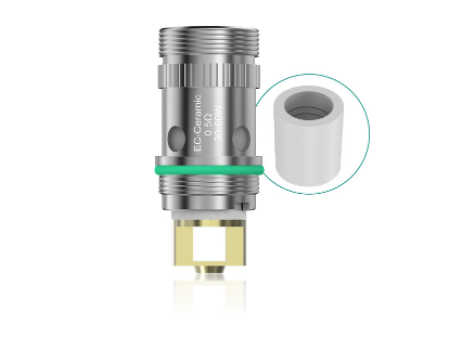 Swib hot selling 100% authentic Eleaf EC-Ceramic Head features a ceramic wicking system