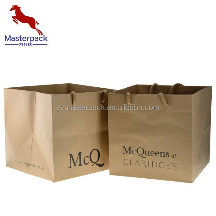 Promotional Kraft Paper Bag for Garment /Gift /Toy Packing ,OEM Orders can be Accepted