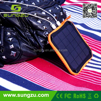 Useful solar phones charger to support digital devices, waterproof solar charger for ipad