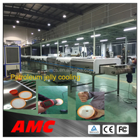 Reliability Universal CFC-free Insulation plastic water bottel cap machines Cooling Tunnel For Production Line