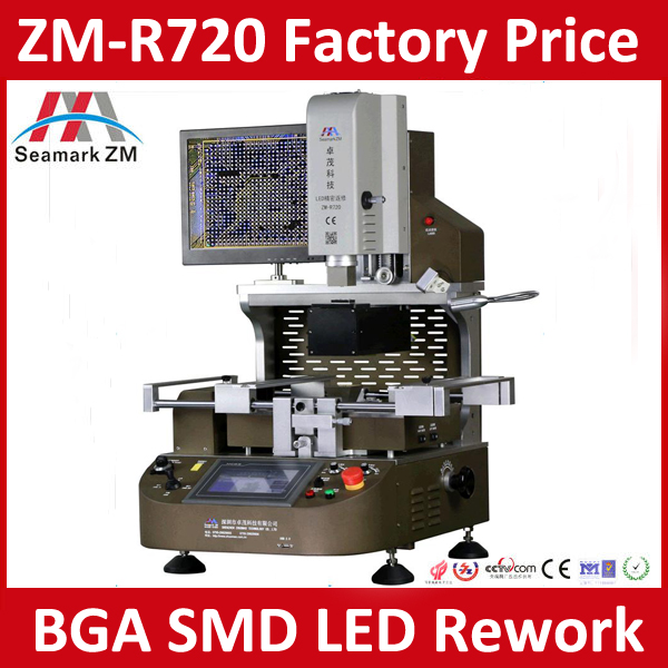 Factory Direct Sale BGA Rework Station Price ZM-R720 ZhuoMao BGA Rework Solution