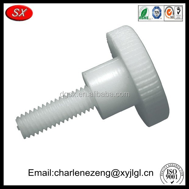Customized nylon thumb screw , plastic thumb screw with high quality
