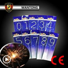 Benz Shape Sparkler Christmas Party Fireworks