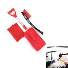 Cixi Modern Snow Devil brand snow cleaning set with plastic cleaning <strong>brush</strong> and snow shovel