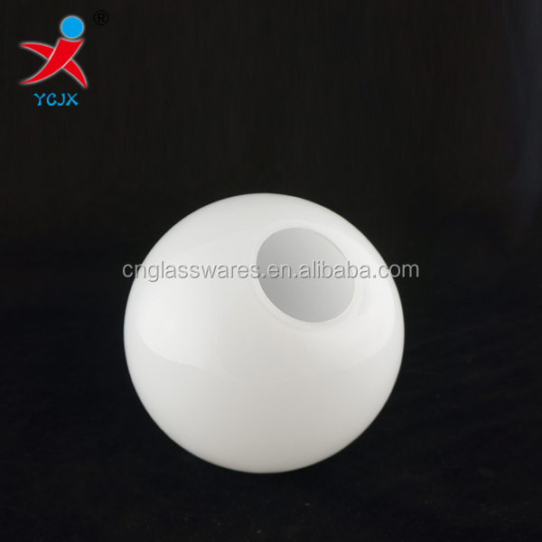 SMALL OPAL WHITE GLASS GLOBE LAMP SHADE/ROUND FROSTED GLASS BALL LAMP SHADE