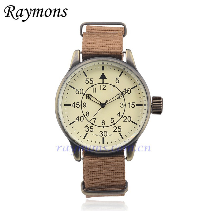 2015 Brown young boys watch with changeable straps