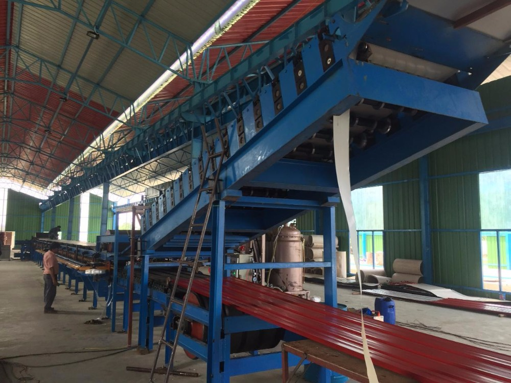 Continuous PU Insulation Sandwich Panel Machine