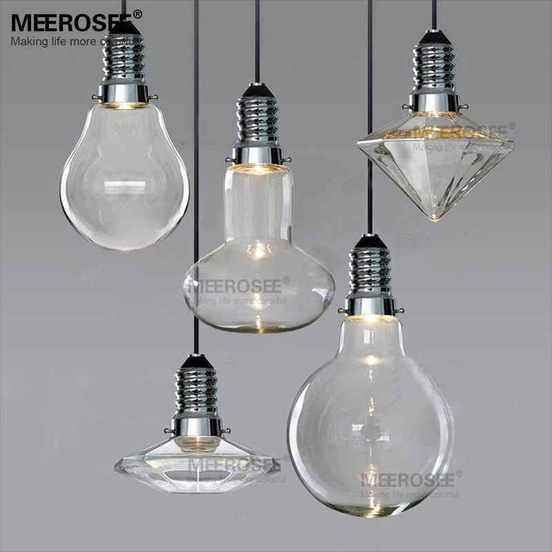 Glass Lighting Chandelier Glass Dome Pendant Light MD81774