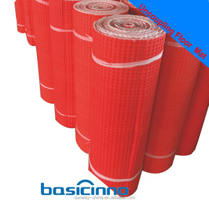 China 3.0mm flexible uncoupling waterproof membrane for Tile and Stone Installation Systems