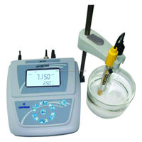 laboratory ph meter with ATC & thermometer