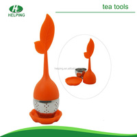 silicone floating tea strainer,tea infuser