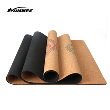2019 Hot Sale Minnee Eco Friendly Wholesale Custom Soft Yoga Mat Cork Yoga Mat For Pilates