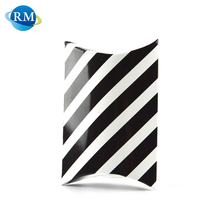 Striped Small Packaging Paper Pillow Box