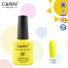 #51263J High Quality Cheapest One Step Gel Nail Polish From CANNI Factory 29 Color 7.3ML Most Professional UV Gel