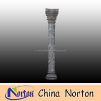 Flower carved marble columns NTMF-C050