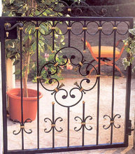 Garden small iron gate FG-099