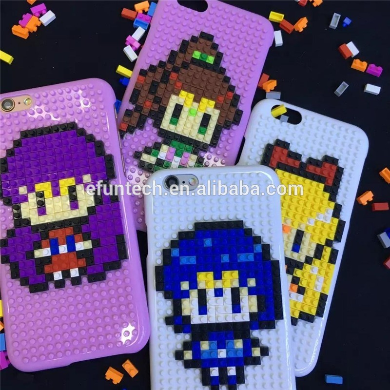 Funny mobile accessory hard plastic jigsaw puzzle mobile phone cover for iphone 5 5s SE