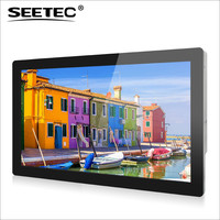 22 inch SEETEC advertising screen indoor full color led monitor touch display for advertising