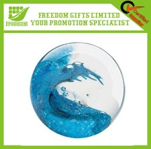 Promtoion Customizable Logo Printed Glass Paperweight