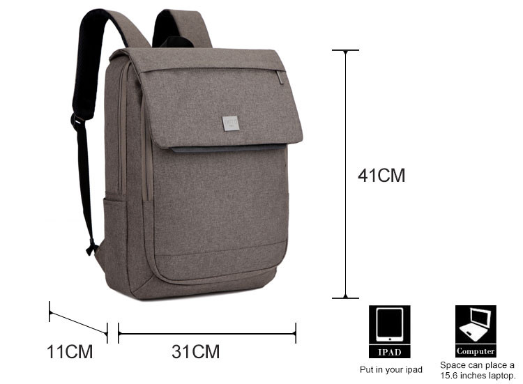 High strength material boy nylon surface kingsons backpack laptop