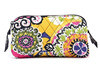 Printed Cotton Cosmetic Carrying Case