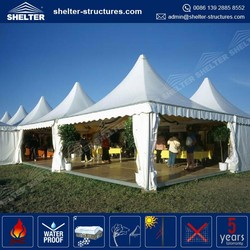 Good quality 850g/sqm PVC fabric coated roof cover easy assembly gazebo 5000 people event tent arabic hajj tents
