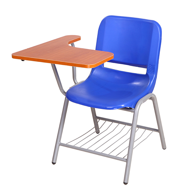 special used wooden plastic school chair with writing board buy