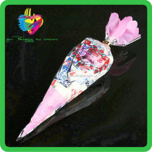 China custom clear flower pot sleeves PP plastic flower sleeves for wholesale