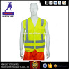 Reflective Road Safety Custom Vest No