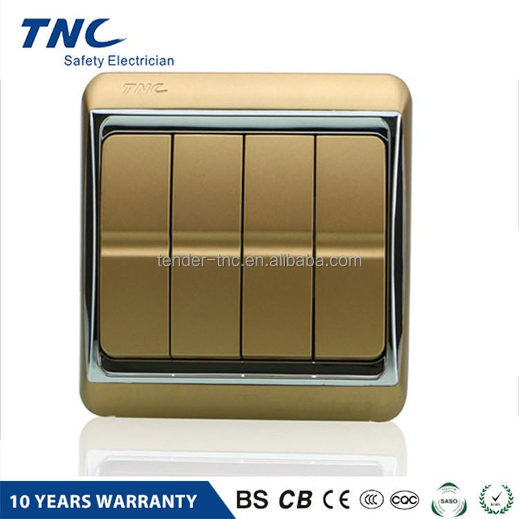 Electrical Wall Switch Prices 4 Gang 2 Way Light Switch