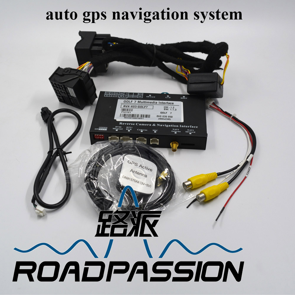 Wholesale multimedia interface auto gps navigation system for VW