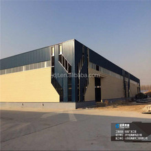 Prefabricated modern light steel structure warehouse
