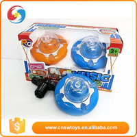 Children classic plastic toys import from china led light flashing spinning top