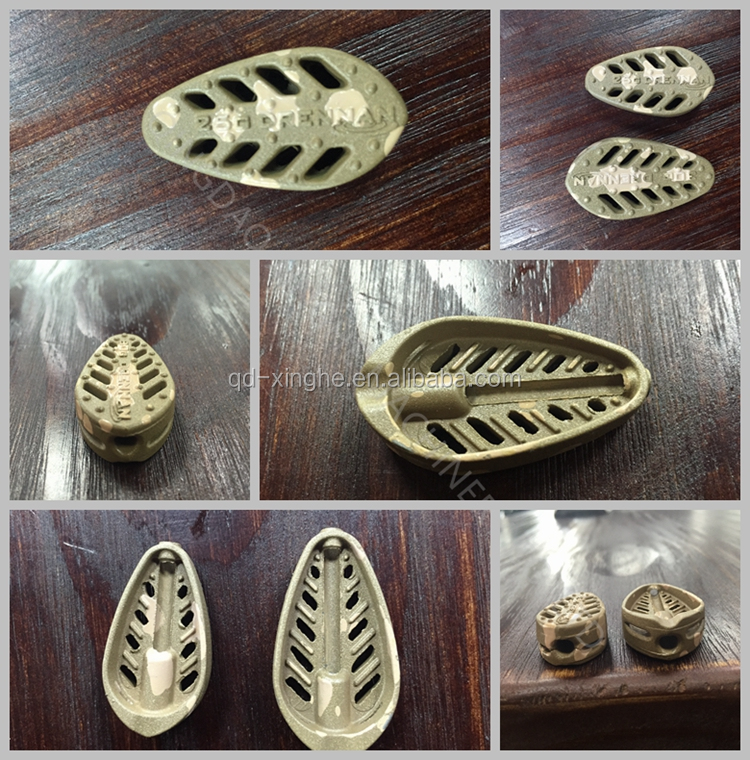 zinc alloy casting China Cast aluminum die casting product with sand blasting