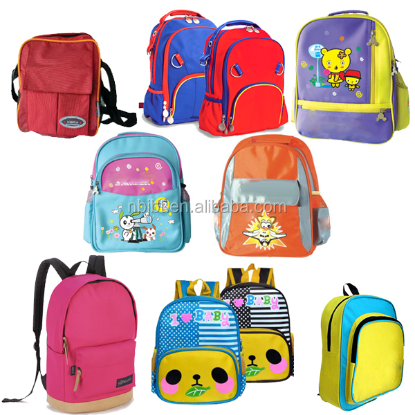 Top Quality Backpack Goverment Bid Child Back To School Bag
