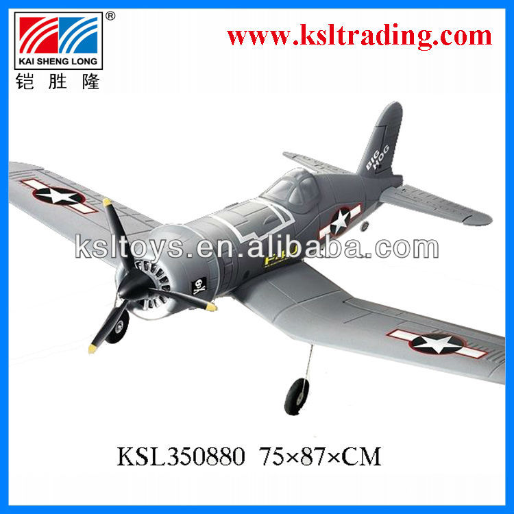 2.4G 4 channel F4U Corsair rc plane
