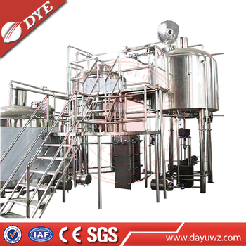 500L Complete German Style Beer Brewery System