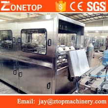 Auto 20l barrel water filling capping equipment/barrel water manufacturing machine/water drum filling machine