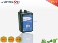 2015 hot sale rechargeable powerful 4r25 6v battery
