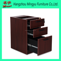 Lockable Melamine hanging pedestal file 3 drawers
