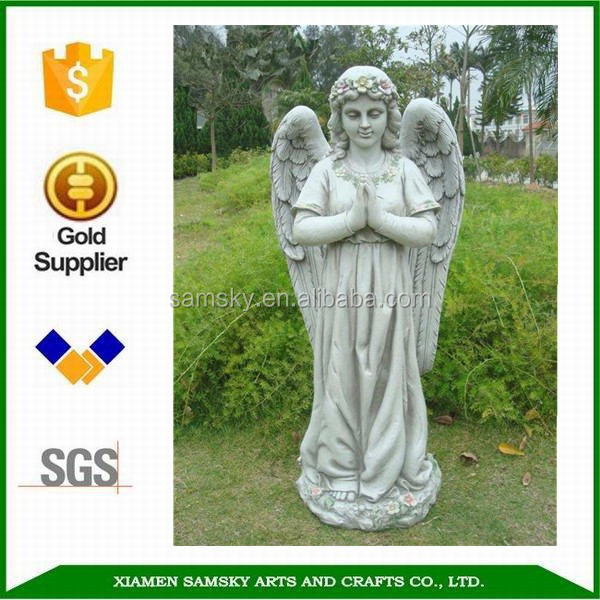 Resin Garden Praying Angel Statue