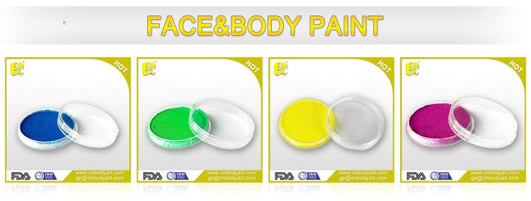 Good Quality Professional Water Based Face and Body Paint