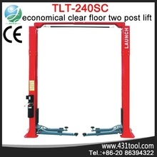 High quality and wholesale price LAUNCH TLT240SC mini tilting two post car lift floorplate hoist